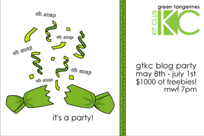 Blog party logo